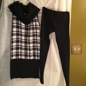 Two piece pants set